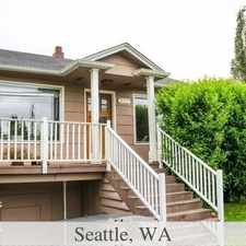 Rental info for 3 bed, 1.50 bath, safe neighborhood. Parking Available! in the Phinney Ridge area