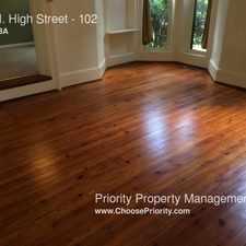 Rental info for 330 N. High Street