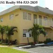 Rental info for R1S1 Realty in the Oakland Park area