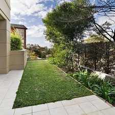 Rental info for Modern garden apartment in prized position in the Cremorne area