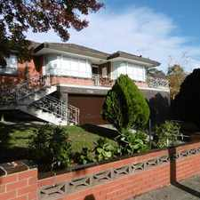 Rental info for The ideal family home. in the Greensborough area