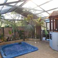 Rental info for LARGE 3 X 2 FAMILY HOME WITH SUNKEN SPA in the Perth area