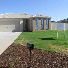 Rental info for Modern Family Home in the Mildura area