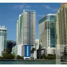 Rental info for 1200 Brickell Avenue #21060