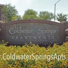 Rental info for Coldwater Springs