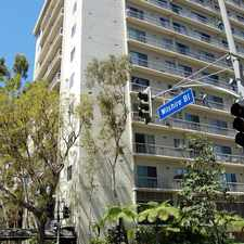 Rental info for 10751 Wilshire Blvd #509 in the Westwood area