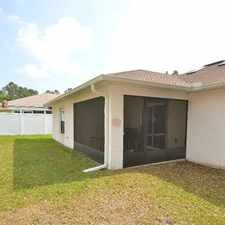 Rental info for Bright Palm Coast, 4 bedroom, 2 bath for rent