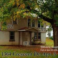 Rental info for 1364 Crescent Drive
