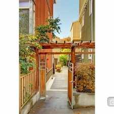 Rental info for Two Bedroom In Fremont in the Phinney Ridge area