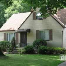 Rental info for Three Bedroom In Cuyahoga County in the Tremont area