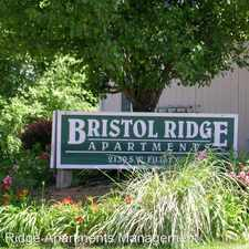 Rental info for Bristol Ridge Apts