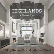 Rental info for Highlands at Market Point