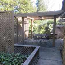 Rental info for Wonderful Yountville living. Single Car Garage!