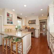 Rental info for Rumson - superb House nearby fine dining