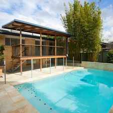 Rental info for Simply Stunning in the Mount Gravatt East area