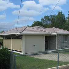 Rental info for Neat family home next to park!