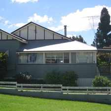 Rental info for Charming and Cosy Home in the Toowoomba area