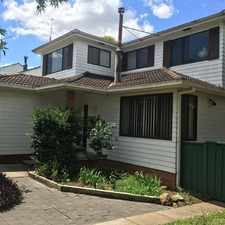 Rental info for 4 Bedroom Home in Singleton Heights in the Singleton area