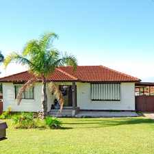 Rental info for Conveniently Located Family Home in the Wollongong area