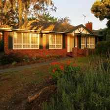 Rental info for Comfortable family living in the Ringwood East area