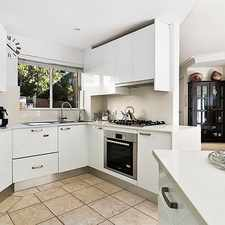 Rental info for Stunning north facing townhouse with executive style renovation in the Russell Lea area