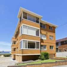Rental info for Bright Top Floor One Bedder in the Maroubra area