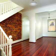 Rental info for Renovated terrace with two double sized bedrooms plus study or small third bedroom.