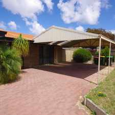 Rental info for FRESHLY PAINTED 3 BEDROOM HOME!! in the Mirrabooka area