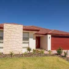 Rental info for RENT REDUCTION and $300 *COLES/MYER VOUCHER - BEAUTIFUL STYLISH HOME. in the Banksia Grove area