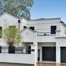 Rental info for **Price Reduced**Stunning Family Home In A Very Sought After Suburb!