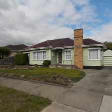 Rental info for IMMACULATELY PRESENTED IN A TOP LOCATION in the Oakleigh East area