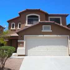 Rental info for Tricon American Homes in the Maricopa area