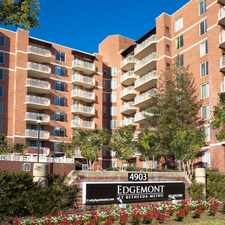 Rental info for Edgemont at Bethesda Metro in the Bethesda area