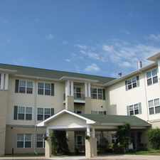 Rental info for Sunrise Village - 55 and Better Independent Living