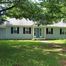 Rental info for Single floor rancher with three bedrooms and two bath. Pet OK!