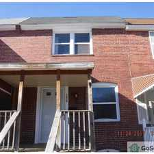 Rental info for Nice remodeled rowhome with finished basement!!! in the Baltimore area