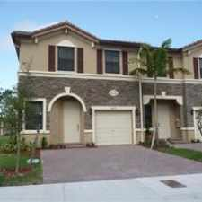 Rental info for 4255 Southwest 164th Court