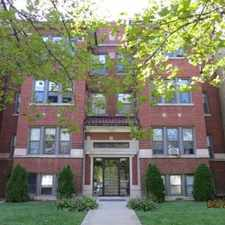 Rental info for 4134 North Keystone Avenue in the Old Irving Park area