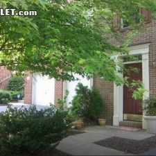 Rental info for $1200 1 bedroom Townhouse in Rockville in the Rockville area