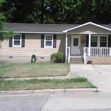 Rental info for 1111 Lancaster St. Columbia, SC 29201 3 Bedroom/1.5 Bath