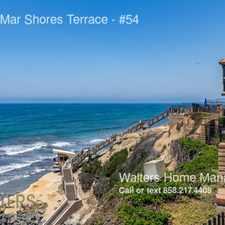 Rental info for 190 Del Mar Shores Terrace