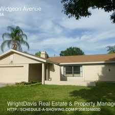 Rental info for 2100 Widgeon Avenue in the 34695 area