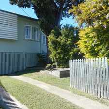 Rental info for FAMILY HOME IN WANDAL in the West Rockhampton area
