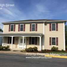 Rental info for 295 High Street