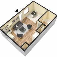 Rental info for Convenient location Studio 1 bath for rent