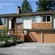 Rental info for 2610 211th Ave E