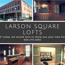Rental info for Larson Square Apartments in the Sioux Falls area