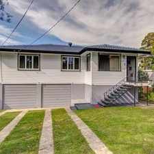 Rental info for Spacious Home In Chermside in the Brisbane area