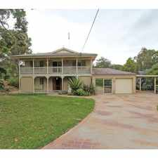 Rental info for Beautiful Large Rural Lifestyle in the Woongarrah area