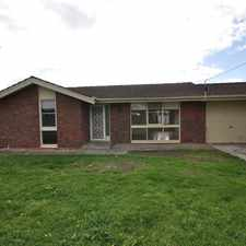 Rental info for LEASED - Updated Kitchen Timber Floors Neat sweet and Compleat 3Beds 2 Baths Single Car